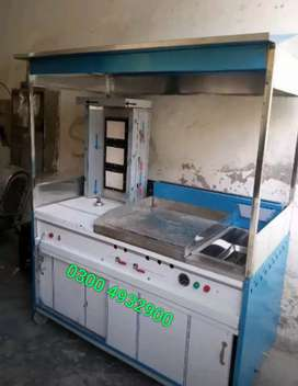 Shwarma countar 6 fits new ss