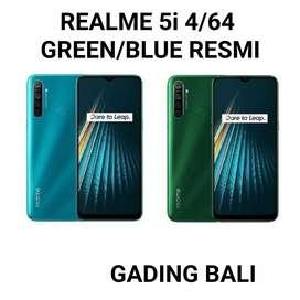 Realme 5i 4/64 Green/Blue Garansi Resmi