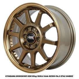 Velg Terbaru Hsr Wheel 22 Ring 15 kendiri