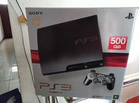 Istimewa Banget PS3 Slim 500gb isi 50 game 2 Stik Bisa Diantar