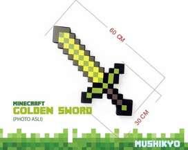 Pedang Minecraft Golden Sword import