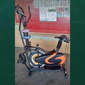 Sepeda fitnes orbitrack plat bisa antar kerumah