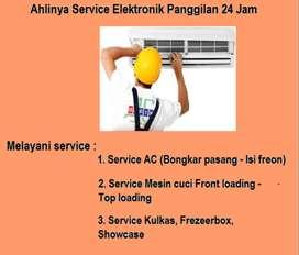 Jasa Perbaikan Ac Sharp,Mesin cuci ganti modul ,Kulkas pompa air bocor