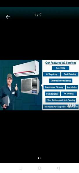 AC REPAIRS SERVICES,ALL TYPES OF REFRIGERATORS(FRIDGE)