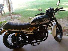 Infinity 150 Cafe Racer