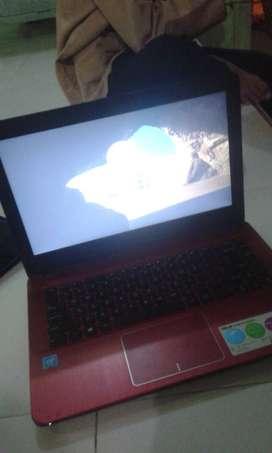 Jual laptop Asus X441N N3350 Murah mulus butuh duit