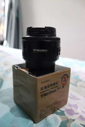 Yong Nuo 50mm F1.8 mk. i for Canon EF