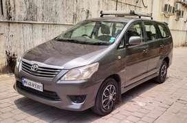 Toyota Innova 2012-2013 2.5 GX (Diesel) 8 Seater BS IV, 2013, Diesel