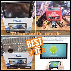 Dvd 2din android link merk PCA terbaru plus camera hd harga grosir gan