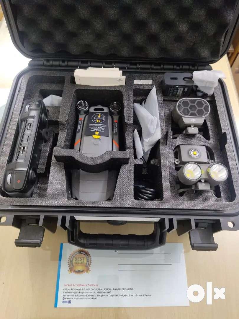 Dji mavic 2 pro enterprise advanced, pro model for surveillance rescue