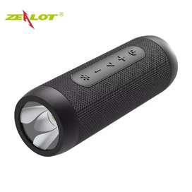 Zealot Portable Bluetooth Speaker with Powerbank 4000mAh +Senter LED