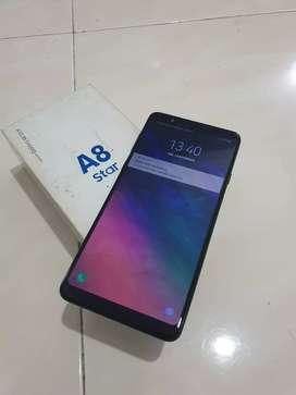 Samsung A8 start fullset mulus normall
