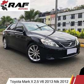 Toyota MARK X Gen2 V6 2.5 2013 Nik 2012 AT TT Camry Altis Accord Jazz