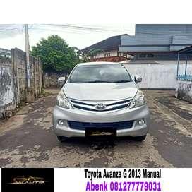 Toyota avanza 1.3 G 2013/2014 Manual, km rendah harga murah #xenia