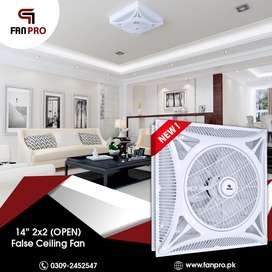 "FANPRO Hi-Speed False Ceiling Fan 14"" 2x2 (OPEN)"