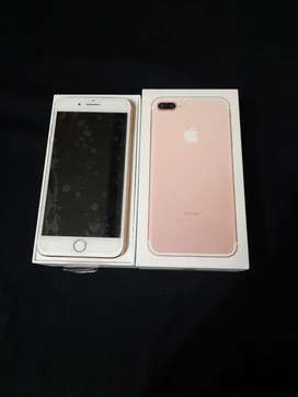 {Second Berkah} IPhone 7 Plus 128gb IBox Likenew Garansi Mei