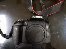 Canon EOS 750D + Lensa Kit EF-S 18-55 IS STM (Zoom Lens)