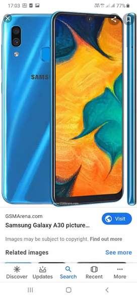 Samsung mobile A30