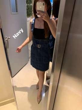 Dress HNJ Jeans Pendek