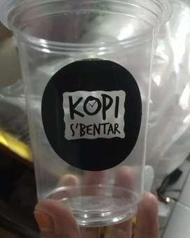 GELAS CUP PLASTIK