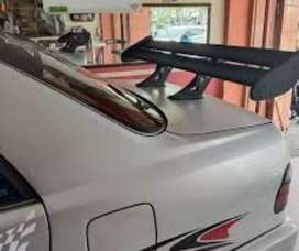 Spoiler GT wings sedan vios lancer civic accord dll