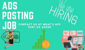 ADS POSTING JOB AVAILABLE