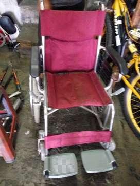 kursi roda bekas almunium 800 rb