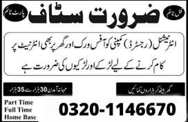 Golden opportunity For Male And Female