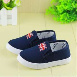 Smart Blue Birthday Shoes for Baby Boys