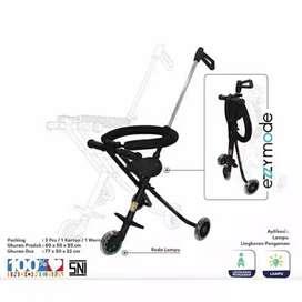 Ezzy Stroller bayi PMB S05 / stroler dorongan anak roda tiga