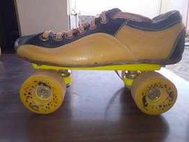 Skating shoes quad