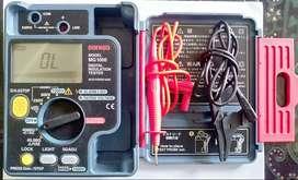 SANWA Mg1000 Insulation Tester  (Megger test kabel)