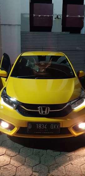 Honda brio satya e automatic msh baru