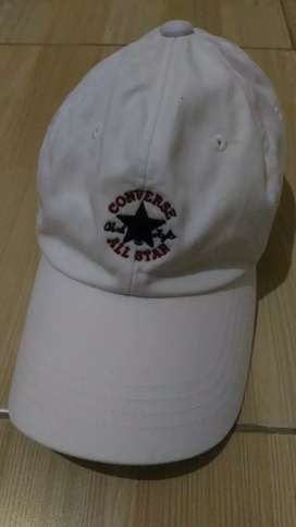 Di jual topi convers all star white original
