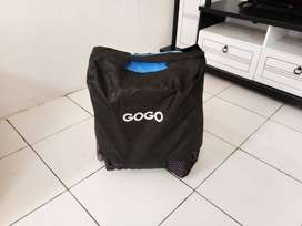 Stroller gogo masih bersih dan bagus. Seperti baru