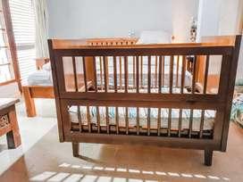 Wooden Baby Box