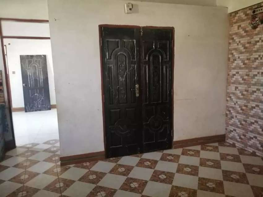 2 bed D.D fourth floor Flat for sale in Punjab colony clifton karachi 0