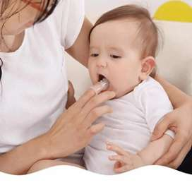 Baby Finger Brush Soft Silicone Toothbrush for Baby Infant Teeth