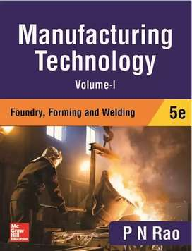 Manufacturing technology Vol 1