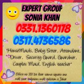 EXPERT GROUP Provided Secure DoMestic Staffs.