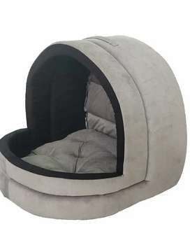 Cat and dog cave velvet  house