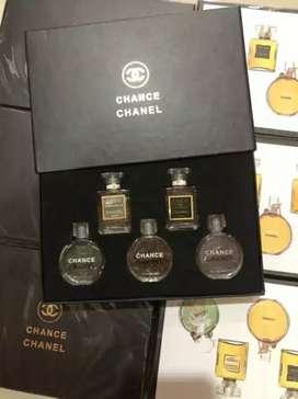 Chan*l parfum set isi 5