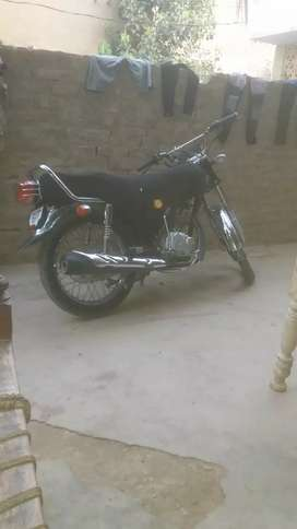 This is Honda 125 2018