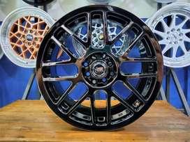 Velg Mobil Baru R17 Hsr RAI-S1 Ring 17 Untuk Mobil Avanza Xenia DLL