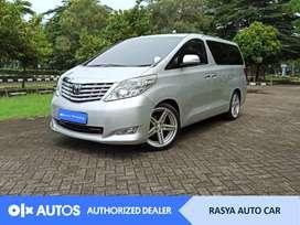 [OLX Autos] Toyota Alphard 2009 Bensin 2.4 A/T Silver #Rasya Auto Car