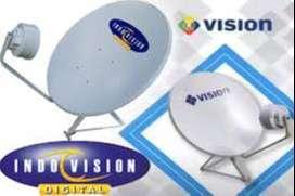 Parabola tahan cuaca Indovision mncvision sales resmi