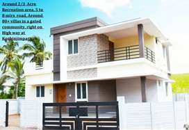 1250 SQ FT LOW BUDGET HIGH QUALITY 3BHK VILLAS FOR SALE @KOZHINJAMPARA