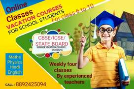 Online Tution for CBSE, ICSE, STATE BOARD