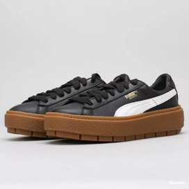 Sepatu Ori Puma Platform Trace L Women (Second)