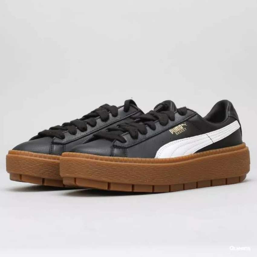 Sepatu Ori Puma Platform Trace L Women (Second) 0